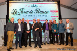 Soirée de gala caritative des Champions du Tour De Rance Randonnée Vintage