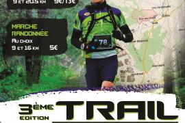 Trail d'Ezy sur Eure parcours 9km