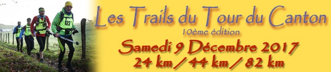 Trails du Tour du Canton 2017