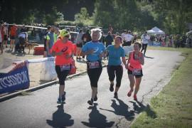 Golden Trail  6,8 km duo féminin