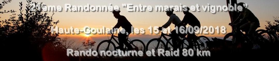 """20ème RANDONNÉE """"Entre marais et vignoble"""" HAUTE-GOULAINE 2017"""