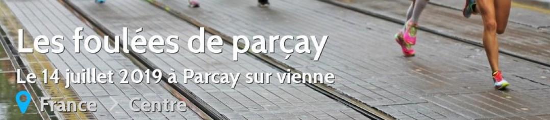 Les foulées de Parçay 2019