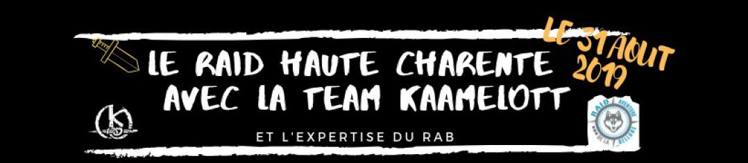 RAID HAUTE CHARENTE TEAM KAAMELOTT