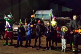 Fête des Lampions par l'Ecole des Bénévoles des Enfants