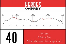 HEROES Charity Ride  I  40 km