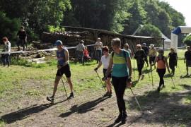 """Samedi 30 mai: 9 kms Marche Nordique Loisirs """" les Grands 20 de Bourgueil"""" environ 200 m de D+"""