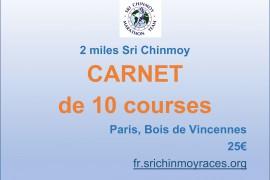 Carnet de 10 courses