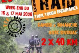 Raid - Parcours 2 x 40 km - Samedi & Dimanche