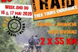 Raid - Parcours 2 x 55 km - Samedi & Dimanche