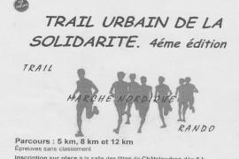 12 km Trail Urbain de la Solidarité