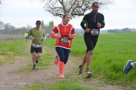 Trail court 24 Kms en relais départ à 9h00