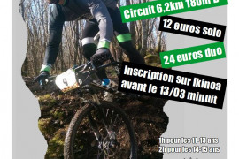 3H VTT Endur'Bike 2020 DUO HOMME
